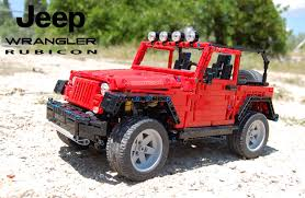 jeep wrangler beach cruiser jeep the lego car blog