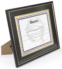 diploma frames with tassel holder matted diploma frame 8 5 x 11 mat