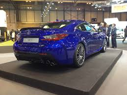 lexus new rc f 25th anniversary edition lexus is f sport and new rc f rims debut