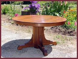 Dining Room Awesome Antique Oak Clawfoot Table Pedestal Remodel - Antique oak kitchen table