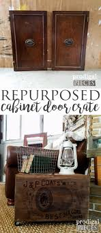 Repurpose Cabinet Doors Repurposed Cabinet Door Crate Prodigal Pieces