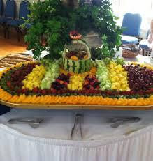fruit displays menu catering