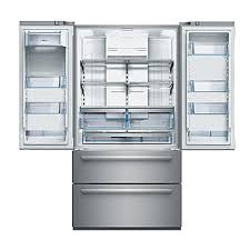 Counter Depth Stainless Steel Refrigerator French Door - bosch b21cl80sns 36
