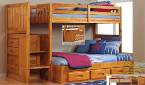 Full Size Metal Loft Bed With Desk by Bunk Beds Loft Bed With Stairs Plans Twin Over Full Bunk Bed