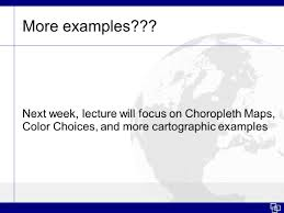 Choropleth Map Example Coordinate Systems Projections U0026 Introduction To Choropleth Maps