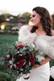 classic red rose wedding at lands end new york aisle perfect