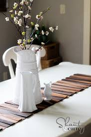 what is a table runner wood shim table runner diy diy wood table diy wood and wood table