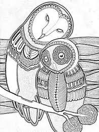 owl coloring pages koloringpages owls pinterest owl