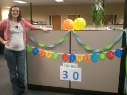 simple cubicle birthday decorations house design and office