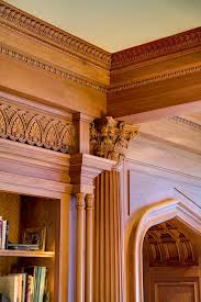Architectural Cornices Mouldings The Dromborg Fayetteville Arkansas Library Arched Entryway