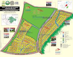 Islamabad Map Jasmine Block Dha Valley Islamabad