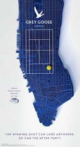 map us open grey goose us open map out manhattan with tennis balls