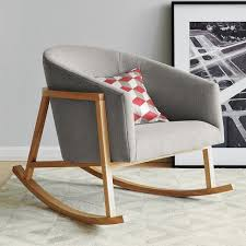 Midcentury Modern Rocking Chair - dining room great best 25 modern rocking chairs ideas on pinterest