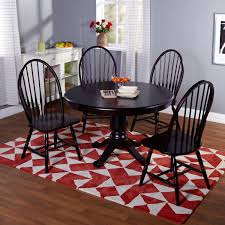 Windsor Dining Room Chairs Bold Brown Wooden Windsor Comfortable Dining Chair Round Table