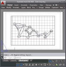 layout en autocad 2015 through the interface plotting