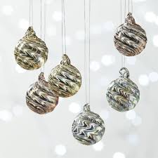 christmas ornament sets unique christmas ornaments and decor cb2