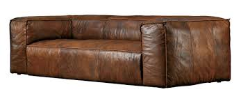 fulham leather sofa for sale manly style chicago magazine chicago home garden november