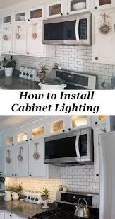 How To Install Kitchen Cabinets Yourself 25 Best Cabinet Lighting Ideas On Pinterest Under Counter