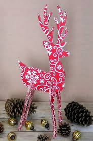 Reindeer Decoration For Christmas by How To Make A 3d Reindeer Christmas Decoration