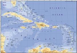 Map Of Caribbean by Caribbean Map Cuba U2022 Mappery