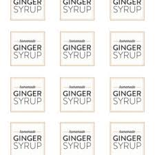printable shot recipes homemade ginger syrup ginger cocktail recipes sugar and charm