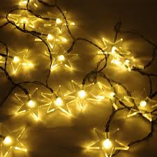 Solar Garden Tree Lights by Zitrades Outdoor Solar String Lights 20 Warm White Star For Garden