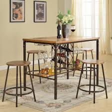 natural wood dining room tables rustic dining set kitchen u0026 dining room furniture furniture