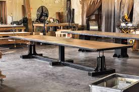 conference room vintage industrial furniture
