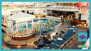 Disney Cruise Floor Plans by Disney Magic Deck 9 Walkthrough Visite Youtube