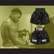 Mike Tyson Clothing Line Mike Tyson Iron Mike Boxing Shorts All Sizes