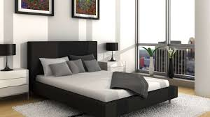 Modern White And Black Bedroom I Love Dark Brown Or Black Furniture It Seems To Go With Anything