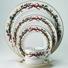 spode table setting the colors