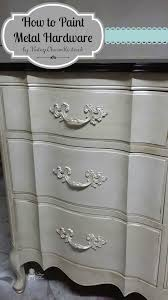 can cabinet handles be painted how to paint metal hardware