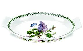 Portmeirion The Botanic Garden by Portmeirion Botanic Garden Classics Gratin Dish Oval Lilac 46 5