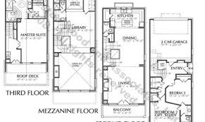 modern town house plans duplex house plans sloping lot plans in