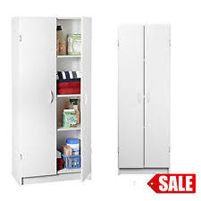 kitchen storage pantry cabinet wood tall food cupboard white