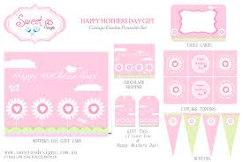 free mother u0027s day party printables from sweet as designs catch