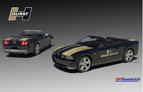 hurst mustang 2010 hurst ford racing mustang pace car to debut with 550 horsepower