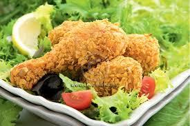 cuisine choumicha poulet recette pilons de poulet croustillants