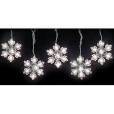 snowflake string of lights snowflake string lights indoor outdoor white amazon co uk lighting