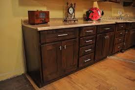 mocha shaker rta cabinets knotty alder cabinets