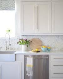 white kitchen backsplashes a kitchen backsplash transformation a design decision wrong