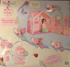 Dream Town Rose Petal Cottage Playhouse by Dream Town Rose Petal Cottage Walmart Com
