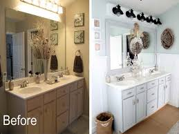 Before And After Small Bathrooms Before And After Bathroom Makeovers Wonderful Small Bathroom