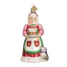 mrs claus ornament ornaments callisters