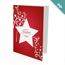 Business Holiday Card Seasonal Star Ornament Business Holiday Cards Christmas Cards
