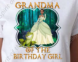 daddy birthday princess tiana princess