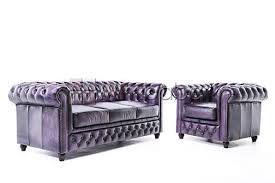 canapé chesterfield violet chesterfield canapé antique violet 1 3 ameublement mobiliers