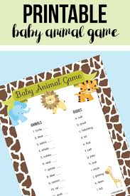cute and easy jungle cakes for a baby shower free printable
