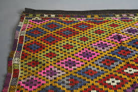 5 By 5 Rug Mid Century Handwoven Turkish Ikat Rug 10 Ft By 5 5 Ft U2013 Abt Modern